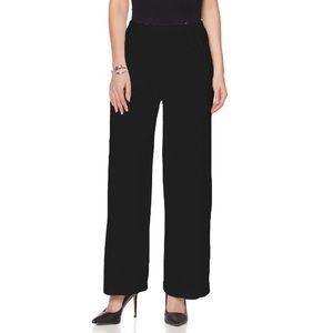 🎄 Slinky Brand Pant Palazzo XS Black Elastic New